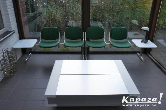 Castelli - industrial 4 seater bench