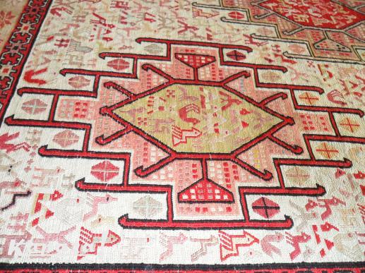 Handgeknoopt Kelim zijden tapijt