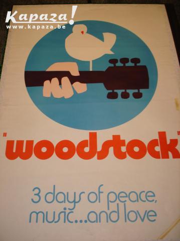 Originele affiche Woodstock