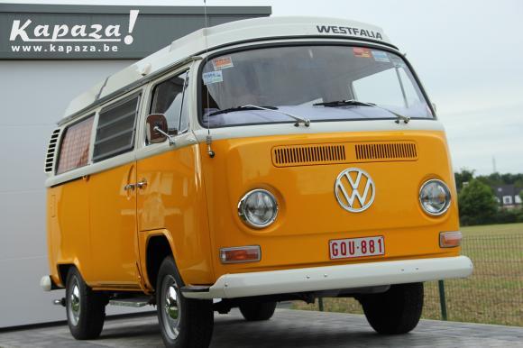 Prachtige gerestaureerde VW T2 ab