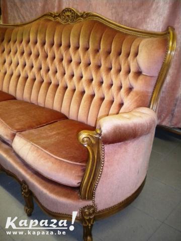 vintage zetel Louis XIV stijl