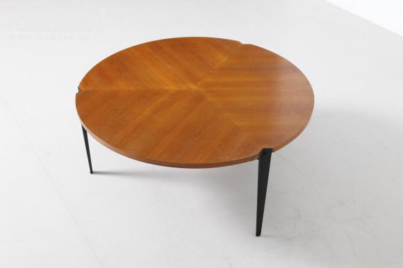 Vintage salontafel van Osvaldo Borsani voor Tecno